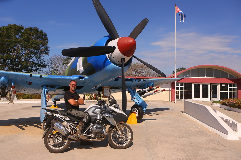 motojournalist christopher baker bmw bay of pigs cuba