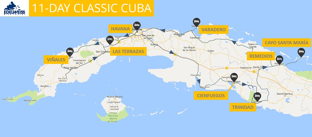 Cuba motorcycle tours 11 day classic cuba an optional one day havana extension prior to day 1 can be purchased to include a visit to a cigar factory plus guided walking tour of habana vieja old gumiabroncs Gallery