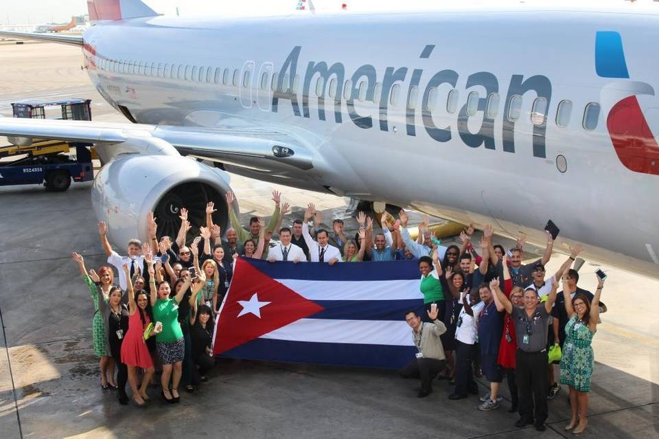 American Airlines begins Cuba flights